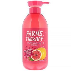Гель для душа на основе минеральной воды Грейпфрут Farms Therapy 700 мл.jpg