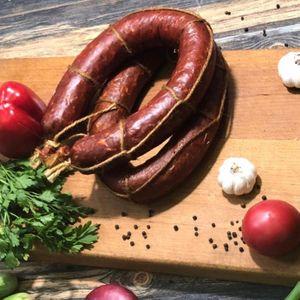 Фермерская говяжья полу-копченая колбаса.JPG