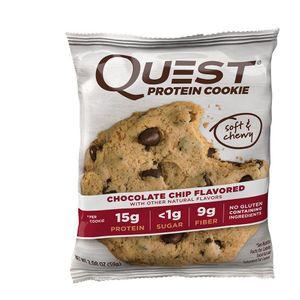 Печенье Quest Cookie с кусочками шоколада без сахара 60 г.jpg