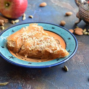 Пирог Мханча с яблоками.JPG