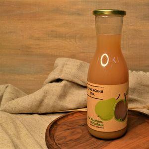 Сок домашний яблоко-груша 1 литр.JPG
