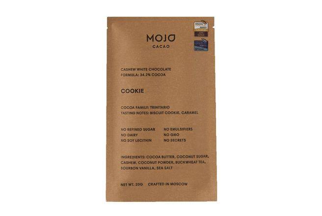 Белый шоколад Mojo cacao с гречишным чаем со вкусом печенья 20г.jpg