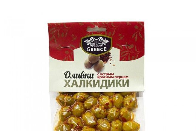Оливки From Greece Халкидики с острым красным перцем.jpg