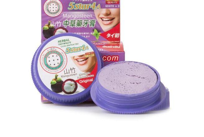 5Star4A Травяная отбеливающая зубная паста с экстрактом Мангостина.jpg