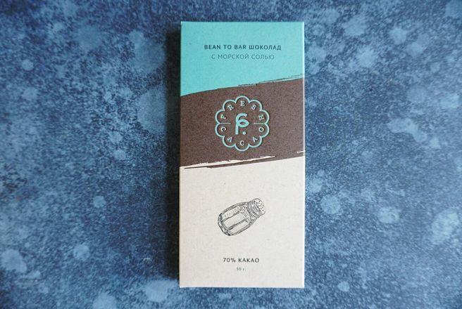 Горький ремесленный шоколад, 70 % какао, серия «Крафт» с морской солью.jpeg
