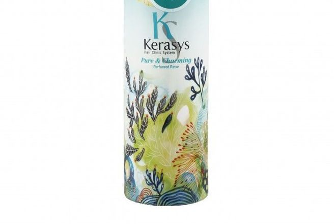 Aekyung Kerasys Parfumed Pure & Charming Кондиционер для волос парфюмированный Шарм.jpg