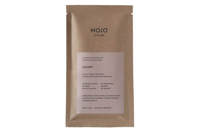 Молочный шоколад Mojo cacao 46% (Эквадор) Creamy 80 г.jpg