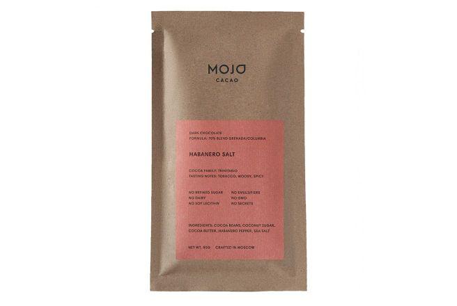 Горький шоколад Mojo cacao 70% с перцем Habanero и морской солью 80г.jpg