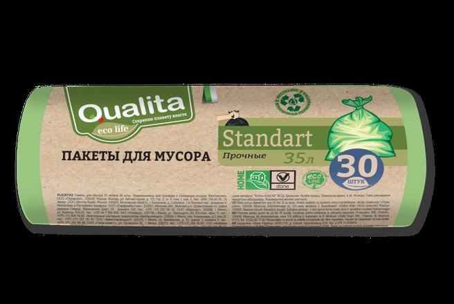 Пакеты для мусора прочные Qualita Eco (35литров 30 штук).png